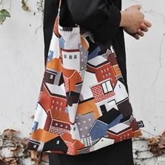 our village hobo bag  by kwakmyeongju