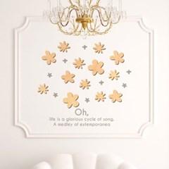 우드스티커- 작은꽃 (반제품) 플라워 W511 입체월데코_(1938864)