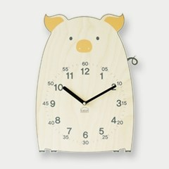 [BEZIT] 부자되는 복돼지 무소음 벽시계