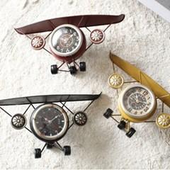 빈티지 비행기 시계