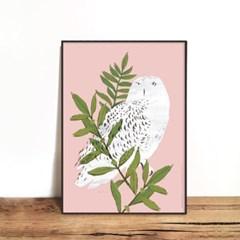 인테리어액자 OWL 01