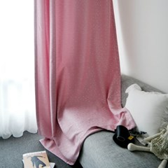 엠보스타 암막커튼 핑크