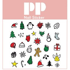 PP NAIL STICKER - CHRISTMAS COOKIES
