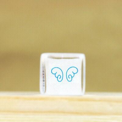퍼니맨크리스탈스탬프 (198-날개)