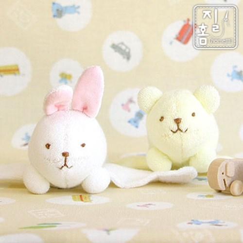 [DIY]노랑곰 & 흰토끼 손목딸랑이 만들기