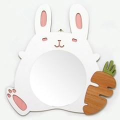 CAM-004 당근 토끼 캐릭터 벽거울