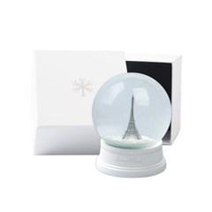 감성적인 빈티지 에펠탑 스노우볼