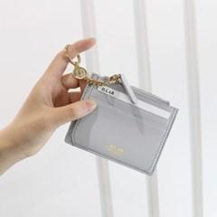 [★별자리 키링 증정] D.LAB Coin simple card wallet - Gray