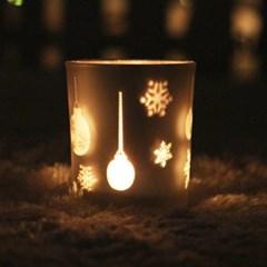 크리스마스 티라이트유리홀더 (3type)