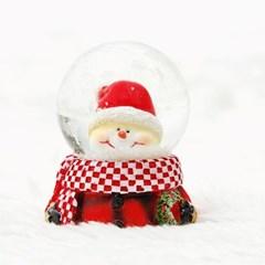 크리스마스 워터볼 스노우볼 4.5CM_(11097422)