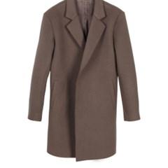 Premium Wool Handmade Coat(Pink Brown) 남성용