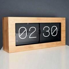 탁상용 원목플립시계