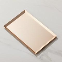 ALTRAY 알루미늄 트레이 샴페인 골드 L