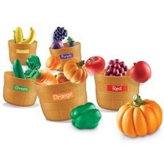 (러닝리소스)LER3060 과일야채 색깔구분 세트/수세기_(1139203)