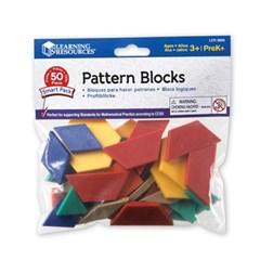 (러닝리소스)LER3669 플라스틱 패턴블록 50PCS/블록_(1139193)