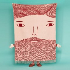 [도나윌슨_Donna Wilson]Beardy Man Throw