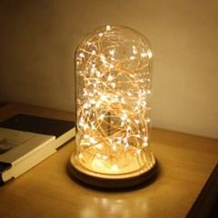 반디 유리돔 USB LED 전구 무드등