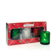 양키캔들[정품] 보티브 & 홀더 크리스마스 선물세트