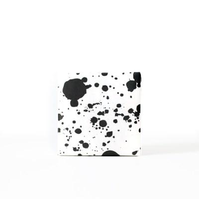 드롭 블랙 포장지