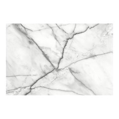 왈가닥스 페이퍼 테이블매트 20매 - 35 White Marble