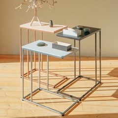 [라쏨] 맞춤형 사이드테이블 세로 확장형 Lavender (350 x 600)