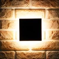 LED 3071 정사각 외부벽등 9W