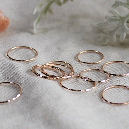 핸드 컷팅 로즈 반지 hand cutting rose ring
