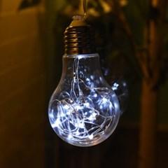 LED 20P 와이어 건전지(밧데리) 에디슨전구(1구)-3color