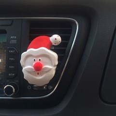 크리스마스 산타 석고방향제 (실내고리용/차량용)