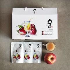 사과를 통째로 갈아넣은 진짜 사과즙
