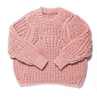 [유라고]hand-made round knit/핸드메이드 니트