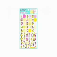 [AIUEO] Schedule pop seal index - Usaboo chan