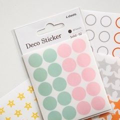 Deco sticker ver.3