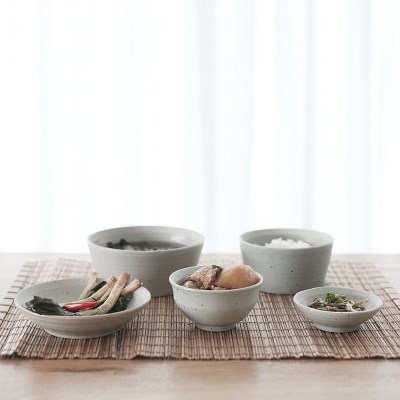 산도 1인 식기/혼밥세트 5P (3color)