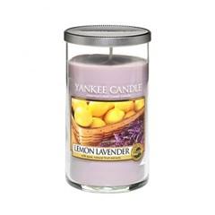 양키캔들[정품] 글라스필라 레몬 라벤더 (Lemon Lavender)
