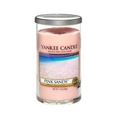 양키캔들[정품] 글라스필라 핑크샌즈 (Pink Sands)