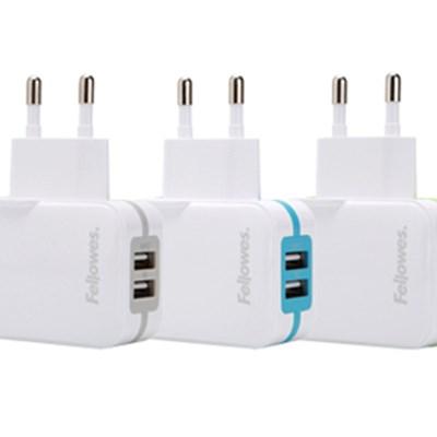 가정용 2포트 USB 충전기(99268)(99272)(99273)