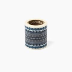 Decolfa 인테리어 마스킹 테이프 50mm -티롤리언/블루 (M3617)