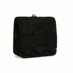 Modern fringe mini bag _Black