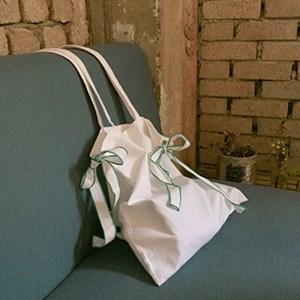 COTTON RIBBON BAG
