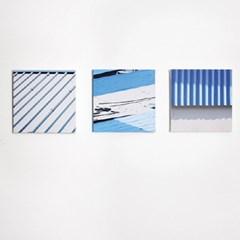 강릉(blue) 캔버스액자 30x30