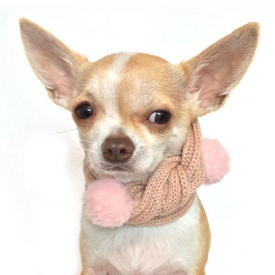 Bubble scarf - Pink