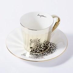 [LUYCHO] 루이초 Amur Leopard-Tall (미러컵+컵받침SET)