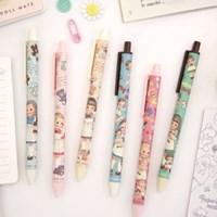 Paper doll mate tick-tock ball pen