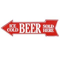 인테리어 틴보드-ICE COLD BEER