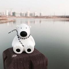 흰곰 석고방향제