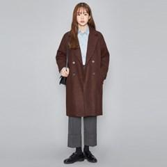 napping double felt coat (2 colors)_(474106)