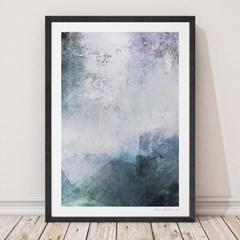 이태리 원목액자 인테리어 포스터 :  Abstract no.03 - 3색(대형, 중