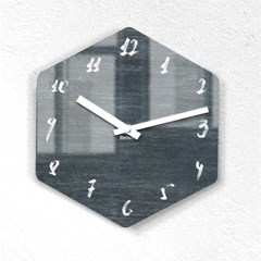 리플렉스 모던6각 캘리네이비 무소음벽시계 CA12NV_(1340698)