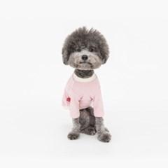 (꼬떼아꼬떼)Fleece Training Tee(Pink)